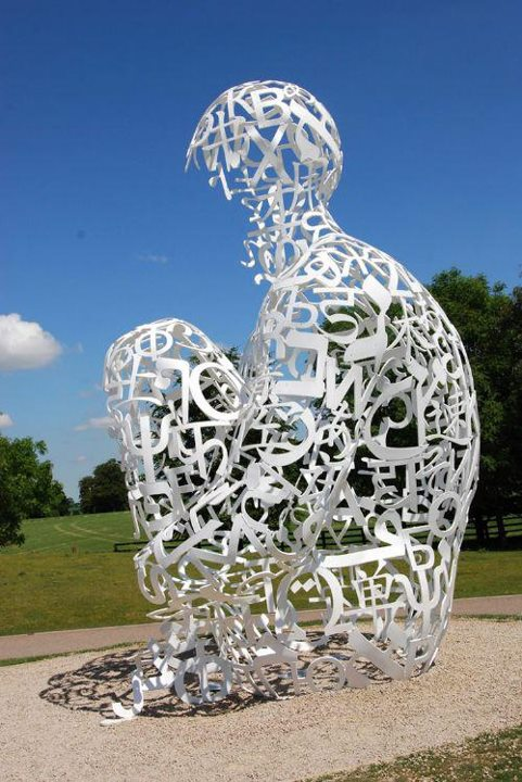 Jaume Plensa 1955 | Spanish Conceptual sculptor | Stainless steel sculpture