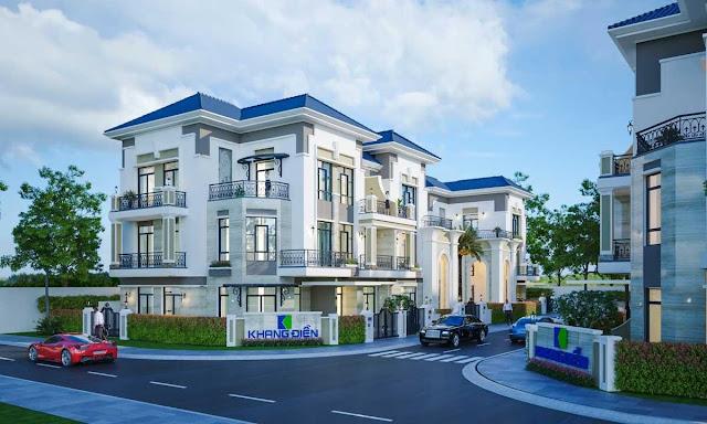 Dự án Verosa Park phong cách nhà phố biệt thự vô cùng ấn tượng và sang trọng