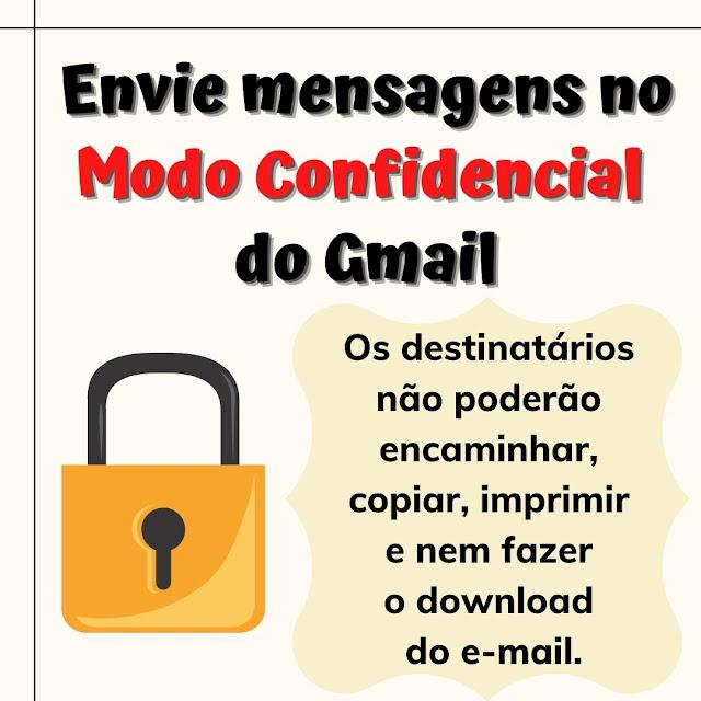 Modo confidencial do Gmail