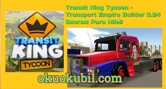 Transit King Tycoon – Transport Empire Builder 3.24 Sınırsız Para Hileli Apk + Mod 2020 Android