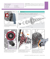 Le Grand Livre du vélo : comment nettoyer et remonter une cassette