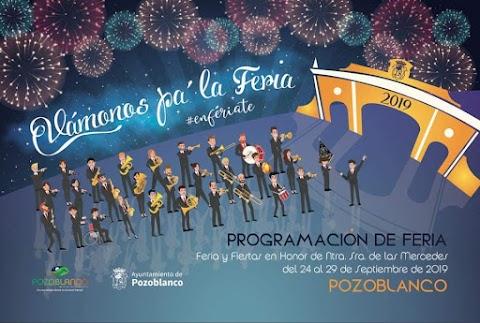 Nuestra banda pregona hoy las Fiestas en Honor a Ntra. Sra. las Mercedes de #Pozoblanco