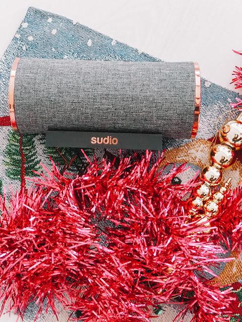 Pour Noël, optez pour l'enceinte Sudio  !