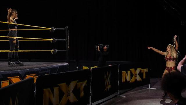 Grande retorno acontece no WWE NXT