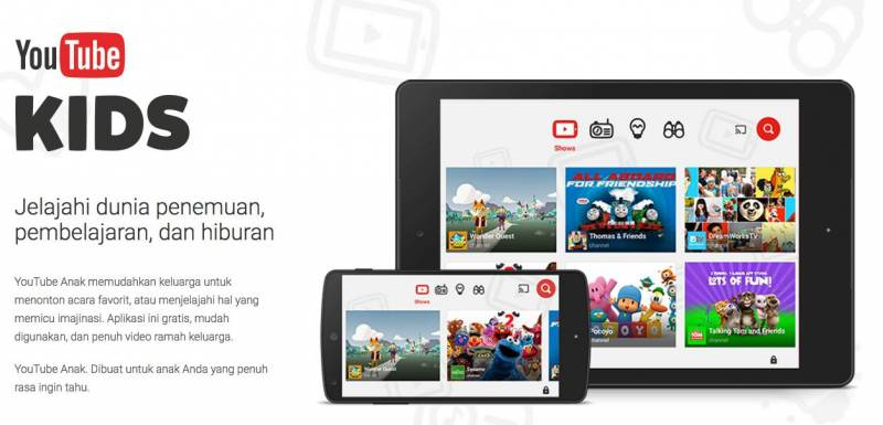 YouTube Kids Indonesia