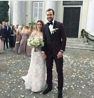 Victor Hedman Wedding