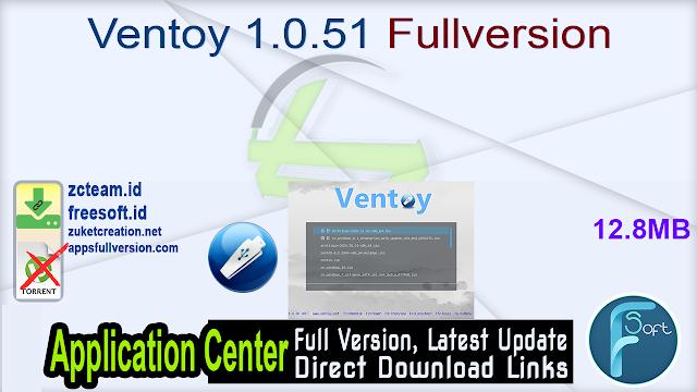 Ventoy 1.0.51 Fullversion