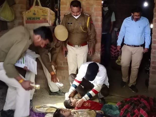 एक ही परिवार के 5 लोगों के शव मिले:राजस्थान के बांसवाड़ा में 2 से 8 साल के 4 बच्चों की गला घोंटकर हत्या, पिता का शव पेड़ से लटका मिला