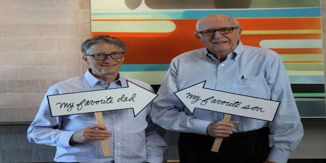 Bill Gates' Father dies