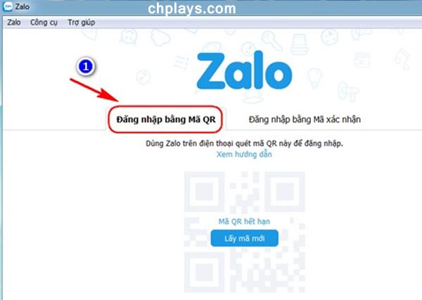 Hướng dẫn đăng nhập Zalo trên máy tính, laptop a