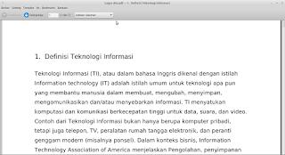 Makalah Teknologi Informasi