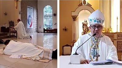 Tahbisan Uskup Di Tengah Pandemi Covid 19: Sangat Indah dan Mengagumkan