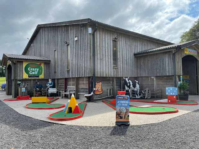 Crazy Golf at Pennywell Farm in Buckfastleigh. Photo by Christopher Gottfried, July 2021
