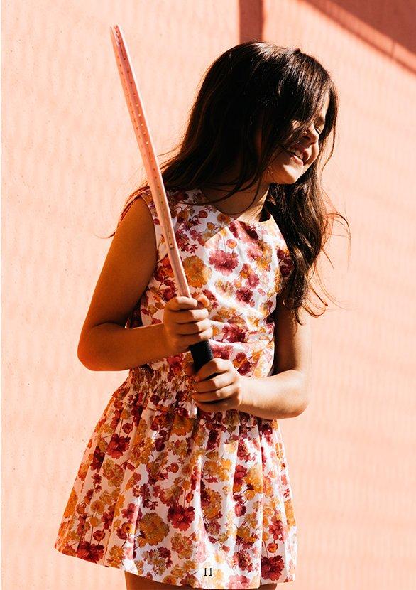 Vestidos para niña primavera - verano