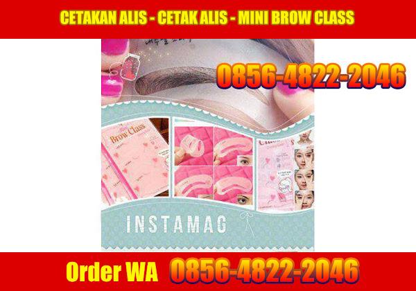 CETAKAN ALIS - CETAK ALIS - MINI BROW CLASS order WA 0856-4822-2046