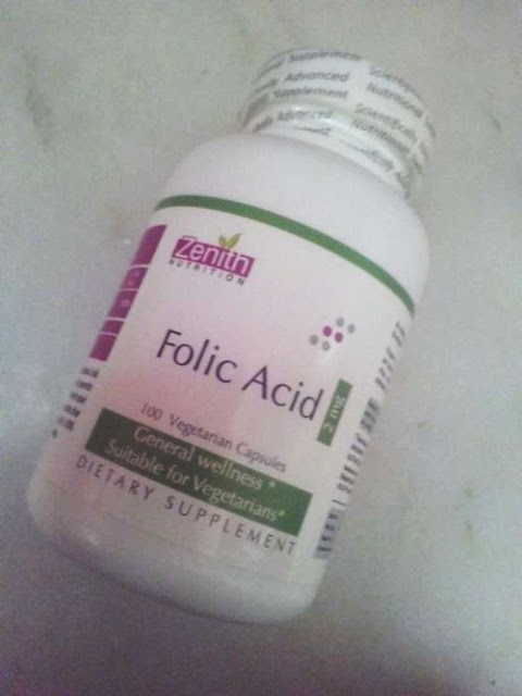 Zenith Nutrition Folic Acid Review
