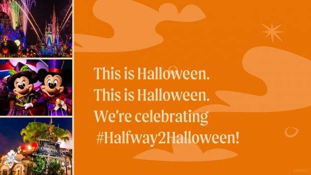 #DisneyMagicMoments, Magic Kingdom, Walt Disney World Resort, Disney's Not-So-Spooky Spectacular, Halloween, #Halfway2Halloween