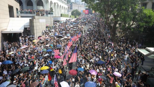"""China: """"Tenemos pruebas de la injerencia de EE.UU. en la situación de Hong Kong"""""""