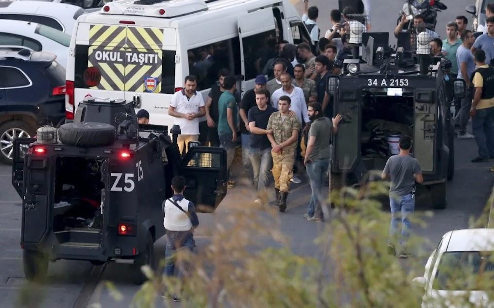 Η Τουρκία μια απέραντη φυλακή