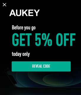 Image from AUKEY Canada Surprise Coupon Code Banner