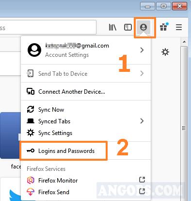 backup password mozilla