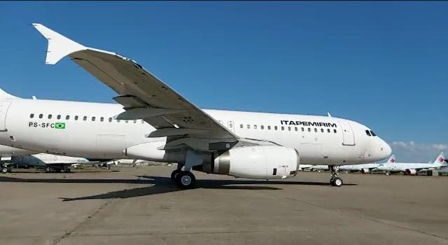 Itapemirim recebe sua terceira aeronave   É MAIS QUE VOAR
