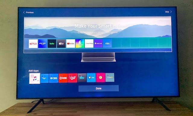 cara mengatur volume smart tv samsung