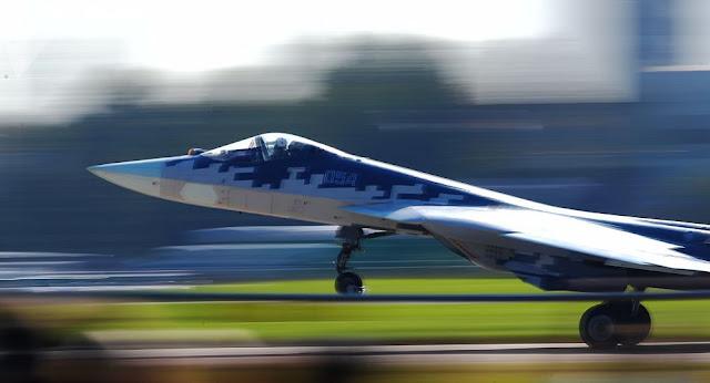 Su-57 novíssimo caça
