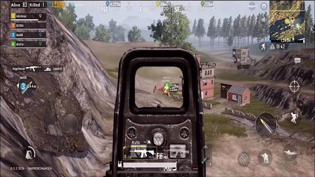 Saat menembak Musuh di luar jangkauan