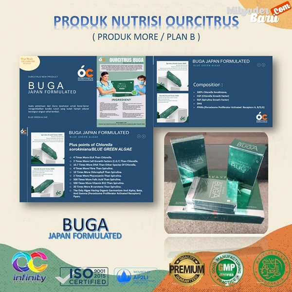 Produk Buga ourcitrus
