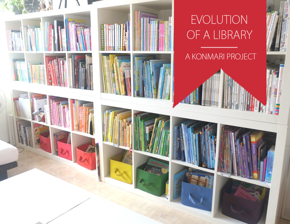 Diy Corporate Mom Evolution Of Our Library Room With The