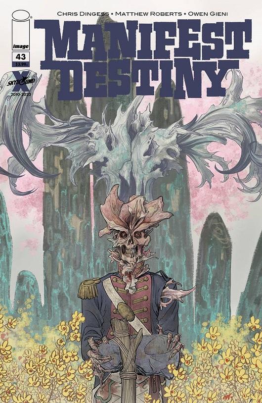 Cover of Manifest Destiny #43