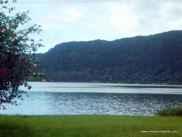 visitar la Laguna de Furnas