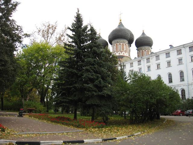 Государев двор в Измайлово. Вид на Покровский собор.