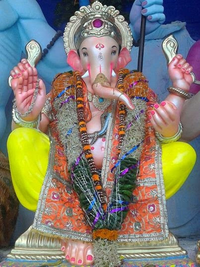 Ganpati Bappa Beautiful Pic For Share