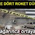 Roketlerin oluşturduğu tahribat gün ağarınca ortaya çıktı