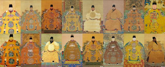 17 vị vua triều đại nhà Minh
