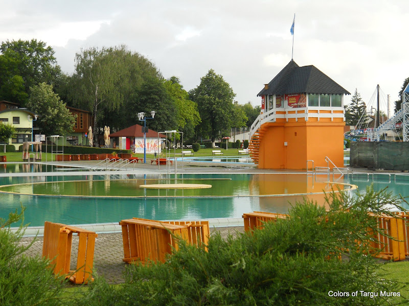 Circular pool. Strandul Weekend din Targu Mures
