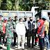 Kasdam XIV/Hasanuddin Dampingi Mantan Wapres ke Lokasi Pengungsian