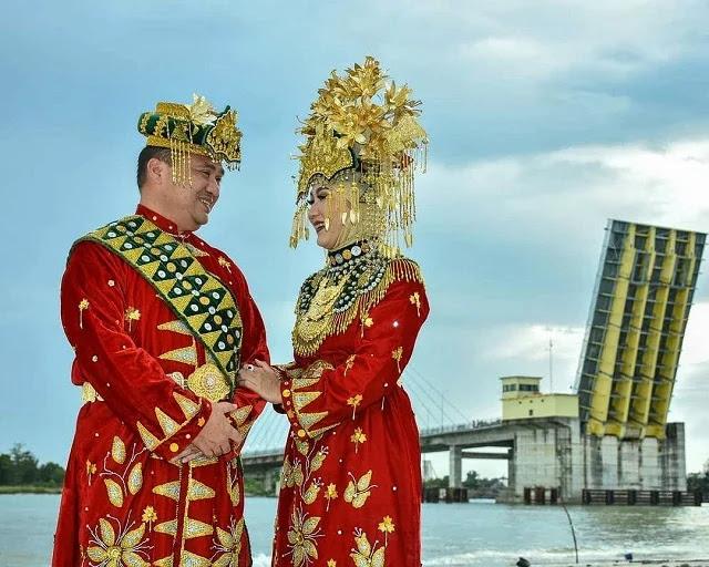 Pakaian Adat Paksian - Provinsi Bangka Belitung