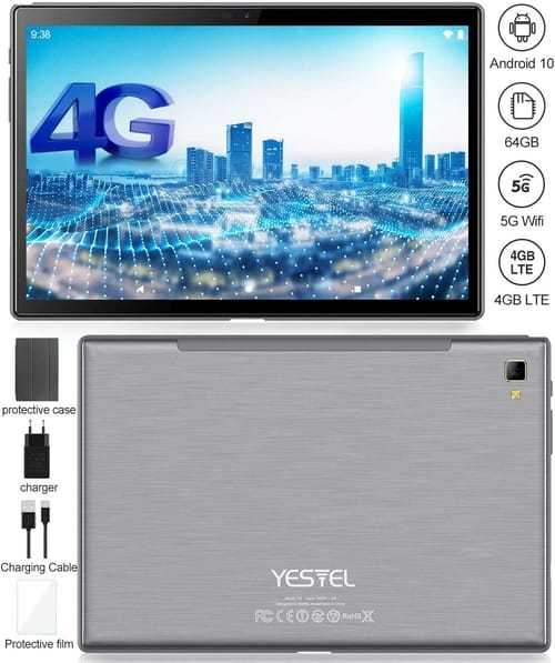 Review YESTEL T5 Ultra-Portable Android 10.0 Tablet