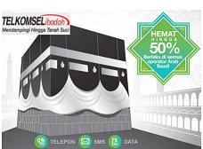 Pilihan Paket Nelpon, Internet dan SMS 3 In One Selama Beribadah Haji Di Arab Saudi Dari Telkomsel