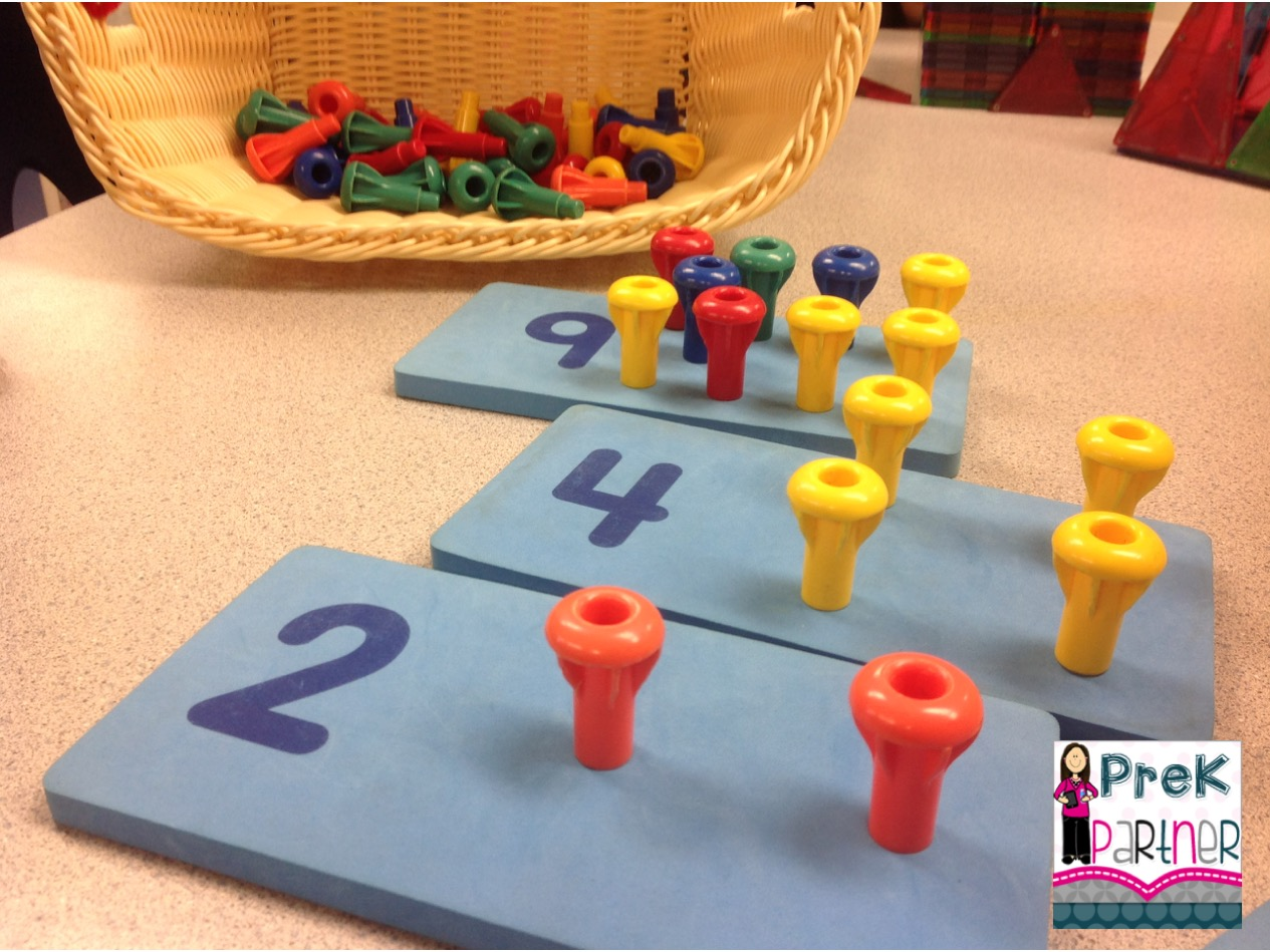 Learning Centers Blog Hop Series Math Amp Manipulatives