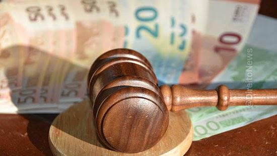 stf aumento custas judiciais 90 dias