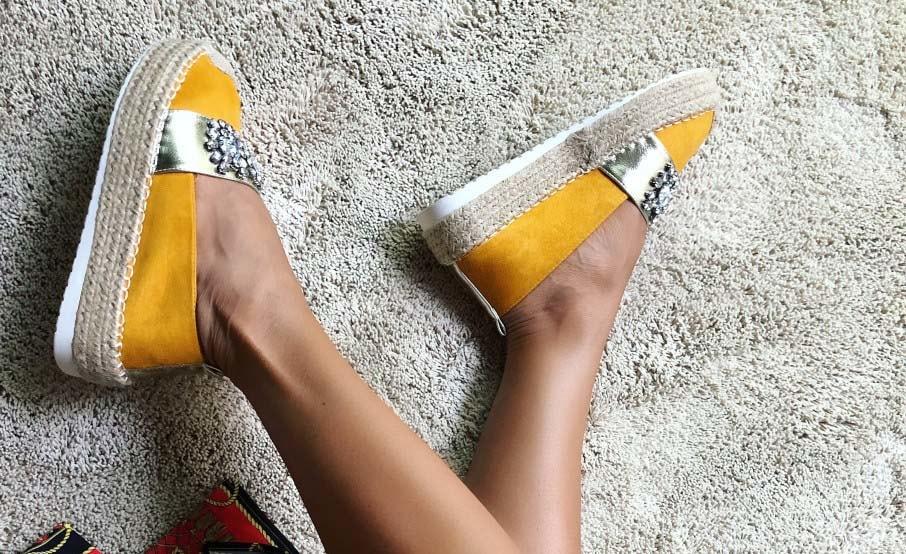 Espadrile de dama ieftine si moderne modele noi la moda