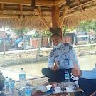 Pastikan Prokes Warga Binaan, Kalapas Kuripan Monitor Keliling