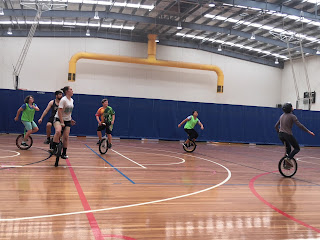 UniNats 2017 Australian Unicycle Championships Basketball