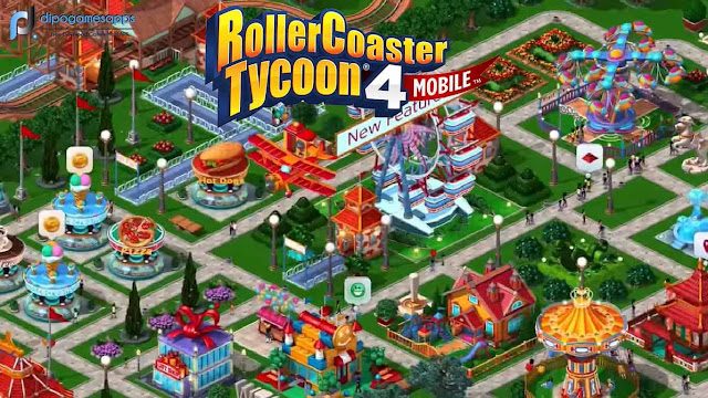 RollerCoaster Tycoon 4 MOD APK + OBB v1 13 2 free Download Updated