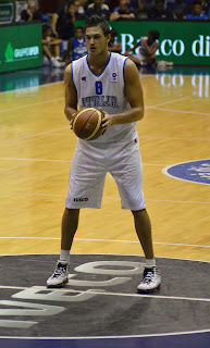 Danilo Gallinari, representing the  Italian national team in 2010