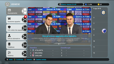 PES 2019 Graphics Mod EvoItaly+ by Andò12345